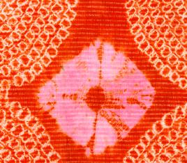 Détail d'un voile melhfa. Mauritanie, Kaédi. Peuple Soninké   © Collection Anne Grosfilley