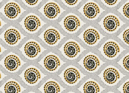 Motif géométrique, style néo-classique, 1800, échantillon textile, Manufacture Oberkampf © Musée de la Toile de Jouy, inv.980.12.351