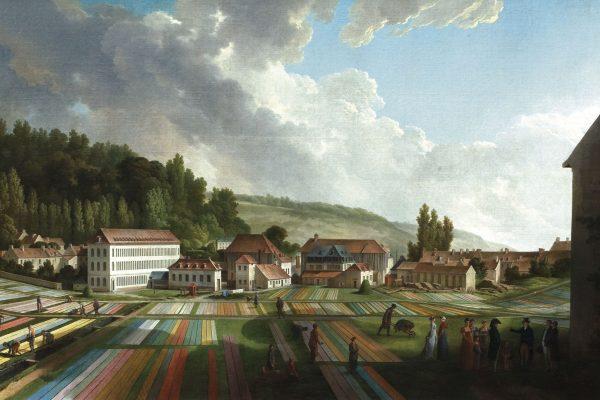 La manufacture de Jouy par Jean-Baptiste Huet, 1807